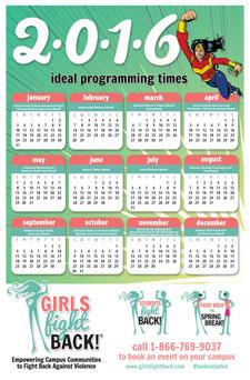 GFB calendar